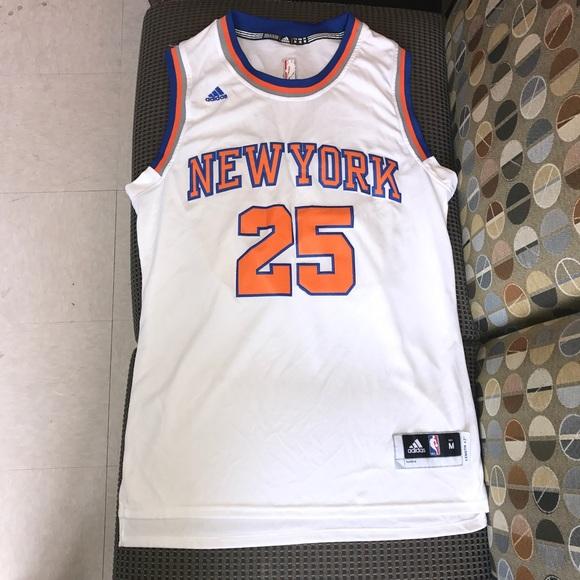 55a0bd5e adidas Shirts | Derrick Rose New York Knicks Nyk Nba Jersey | Poshmark